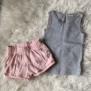 Pink/Grey Outfit